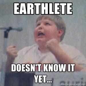 earthlete meme
