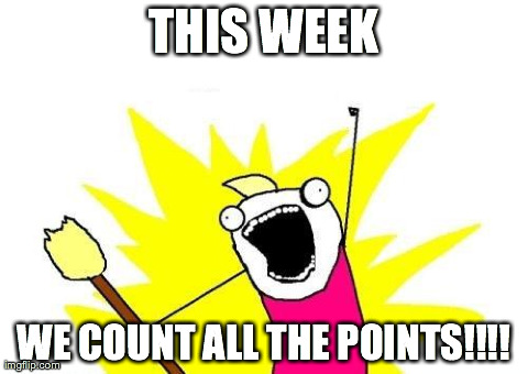 Count all the points