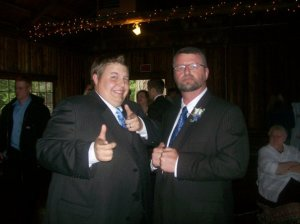 Dad and Me at the Wedding